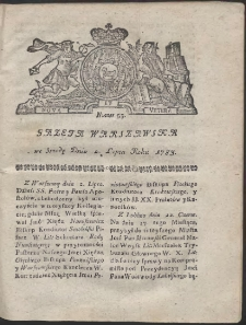 Gazeta Warszawska. R.1783 Nr 53