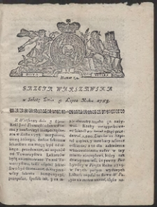Gazeta Warszawska. R.1783 Nr 54