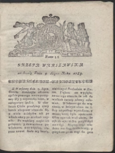 Gazeta Warszawska. R.1783 Nr 55