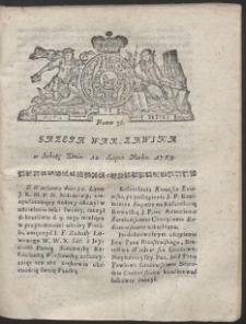 Gazeta Warszawska. R.1783 Nr 56