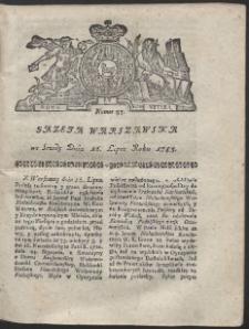 Gazeta Warszawska. R.1783 Nr 57