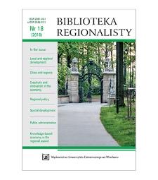Spis treści [Biblioteka Regionalisty, 2018, Nr 18]