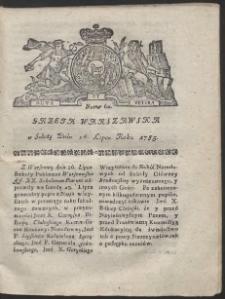 Gazeta Warszawska. R.1783 Nr 60
