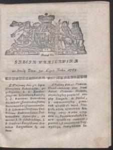 Gazeta Warszawska. R.1783 Nr 61