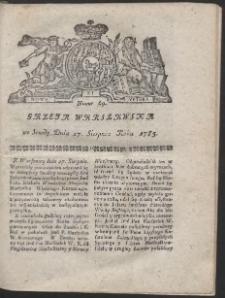 Gazeta Warszawska. R.1783 Nr 69