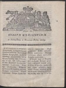 Gazeta Warszawska. R.1783 Nr 72