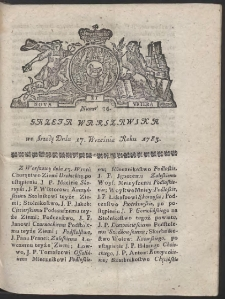 Gazeta Warszawska. R.1783 Nr 75