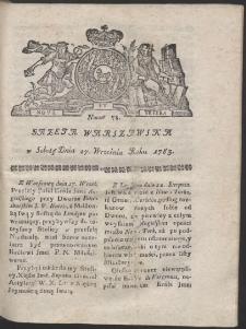 Gazeta Warszawska. R.1783 Nr 78