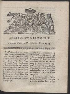 Gazeta Warszawska. R.1783 Nr 82
