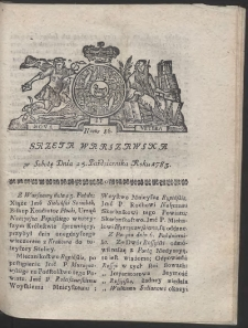 Gazeta Warszawska. R.1783 Nr 86