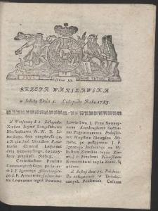 Gazeta Warszawska. R.1783 Nr 88