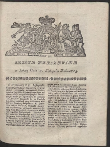 Gazeta Warszawska. R.1783 Nr 90
