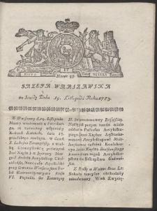 Gazeta Warszawska. R.1783 Nr 93