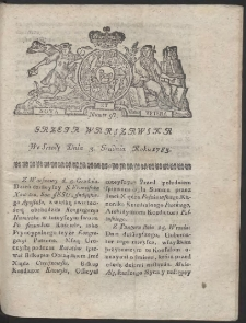 Gazeta Warszawska. R.1783 Nr 97