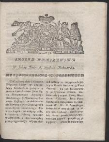 Gazeta Warszawska. R.1783 Nr 98