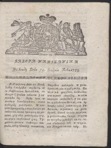 Gazeta Warszawska. R.1783 Nr 99