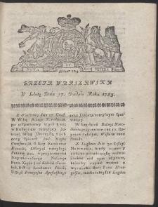 Gazeta Warszawska. R.1783 Nr 104