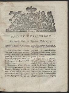 Gazeta Warszawska. R.1784 Nr 8