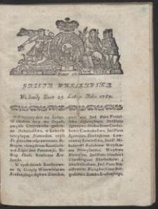 Gazeta Warszawska. R.1784 nr 16