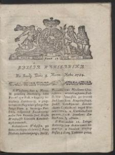 Gazeta Warszawska. R.1784 Nr 18