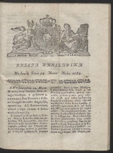 Gazeta Warszawska. R.1784 Nr 24