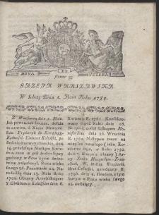 Gazeta Warszawska. R.1784 Nr 35
