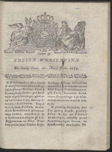 Gazeta Warszawska. R.1784 Nr 38