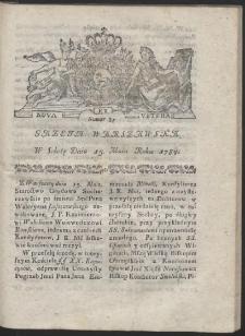 Gazeta Warszawska. R.1784 Nr 39