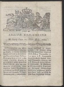 Gazeta Warszawska. R.1784 Nr 40