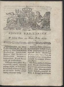 Gazeta Warszawska. R.1784 Nr 43
