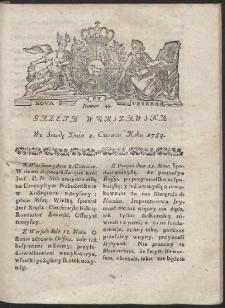 Gazeta Warszawska. R.1784 Nr 44