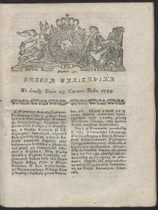 Gazeta Warszawska. R.1784 Nr 50