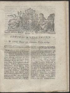 Gazeta Warszawska. R.1784 Nr 51