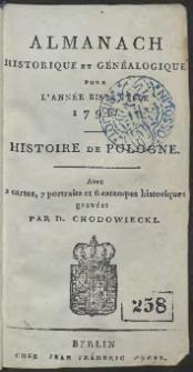 Almanach Historique Et Généalogique Pour L'Année […] 1796 […]