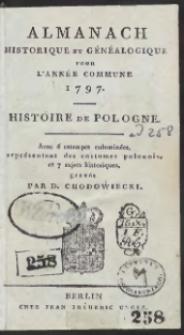 Almanach Historique Et Généalogique Pour L'Année […] 1797 […]