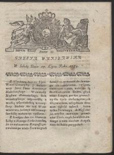 Gazeta Warszawska. R.1784 Nr 57