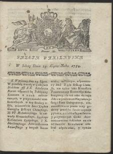 Gazeta Warszawska. R.1784 Nr 59