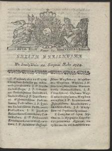 Gazeta Warszawska. R.1784 Nr 64
