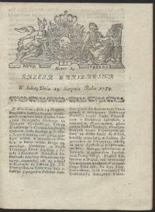 Gazeta Warszawska. R.1784 Nr 65