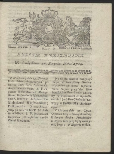 Gazeta Warszawska. R.1784 Nr 66