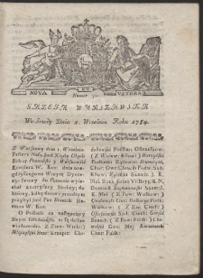 Gazeta Warszawska. R.1784 Nr 70
