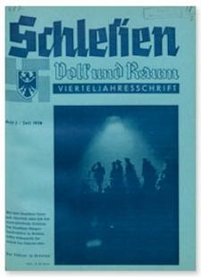 Schlesien Volk und Raum. 1. Jahrgang, Juli 1938, Folge 2