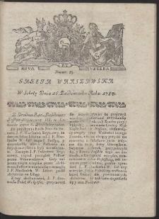 Gazeta Warszawska. R.1784 Nr 83