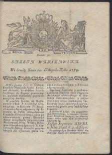 Gazeta Warszawska. R.1784 Nr 90
