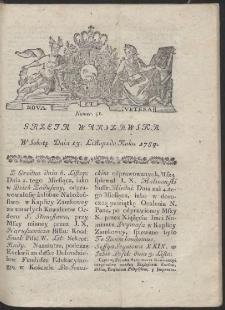 Gazeta Warszawska. R.1784 Nr 91
