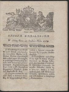 Gazeta Warszawska. R.1784 Nr 101