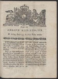 Gazeta Warszawska. R.1784 Nr 103