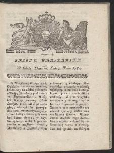 Gazeta Warszawska. R.1785 Nr 15