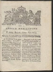 Gazeta Warszawska. R.1785 Nr 17