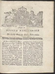 Gazeta Warszawska. R.1785 Nr 24